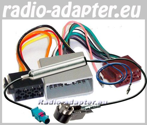 citroen c crosser radioadapter mit iso antennenanschluss. Black Bedroom Furniture Sets. Home Design Ideas