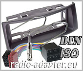 Renault Scenic 1997 - 2003 radio dash kit compo, car stereo fitting kit