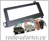 Chrysler Grand Cherokee until 2001 fascia panel + harness adaptor, radio installation kit