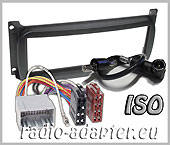 Chrysler 300M, Neon, Sebring radio dash kit ISO, radio panel