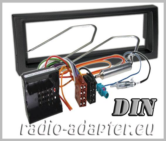 citroen c5 radioblende radioadapter din autoradio einbauset car hifi radio. Black Bedroom Furniture Sets. Home Design Ideas