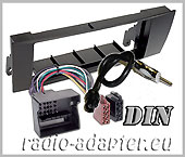 BMW E81, E82, E87, E88 fascia panel + Aerial adaptor + ISO Harness Adaptors