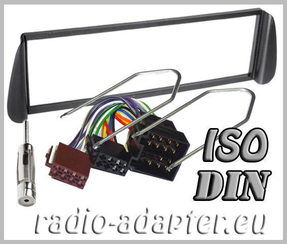citroen xsara picasso radioblende radioadapter autoradio einbauset car hifi radio. Black Bedroom Furniture Sets. Home Design Ideas