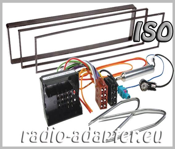 citroen c2 c3 radioblende radioadapter iso autoradio einbauset car hifi radio. Black Bedroom Furniture Sets. Home Design Ideas