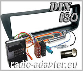 Peugeot 107 radio dash kit compo, car stereo fitting kit