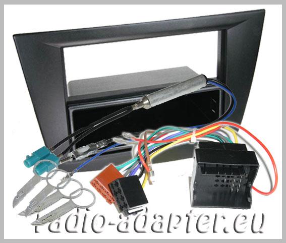 seat altea toledo radioblende radioadapter din autoradio einbauset car hifi radio. Black Bedroom Furniture Sets. Home Design Ideas