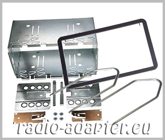 alfa 159 doppel din radioblende einbauschacht blechrahmen. Black Bedroom Furniture Sets. Home Design Ideas