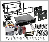 Chrysler PT Cruiser 2005 onwards radio dash kit, double DIN fitting kit