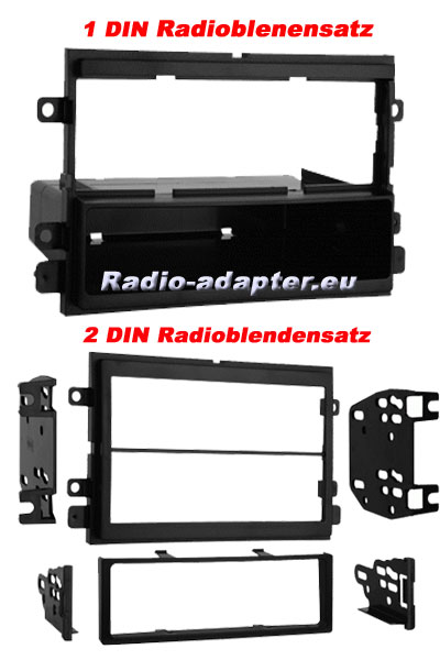 Ford Radio Dash Kit 2004 - 2009