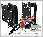 Dodge Caliber 2009-2010 2 DIN Autoradio Radioblendenset