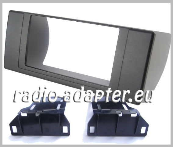 bmw x5 e53 radioblende autoradioblende doppel din farbe. Black Bedroom Furniture Sets. Home Design Ideas
