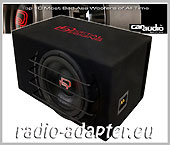 Digital Designs DDE-E 3510 25 cm Subwoofer 2 x 2 Ohm 4800 Watt