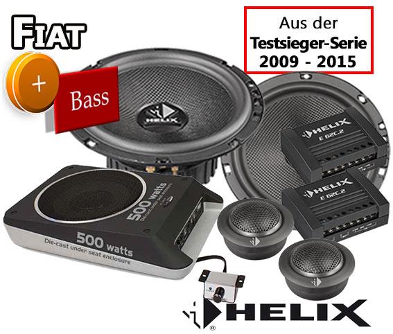 HELIX Front Auto Lautsprecher Kompo für FIAT Ducato ab 2006