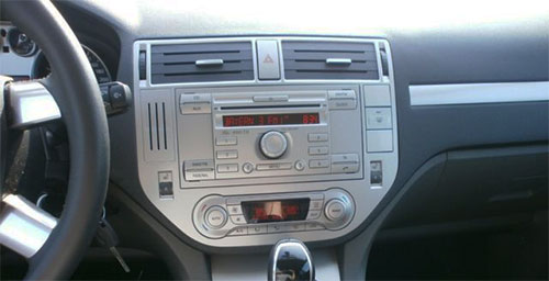 Ford C-Max Radio silber