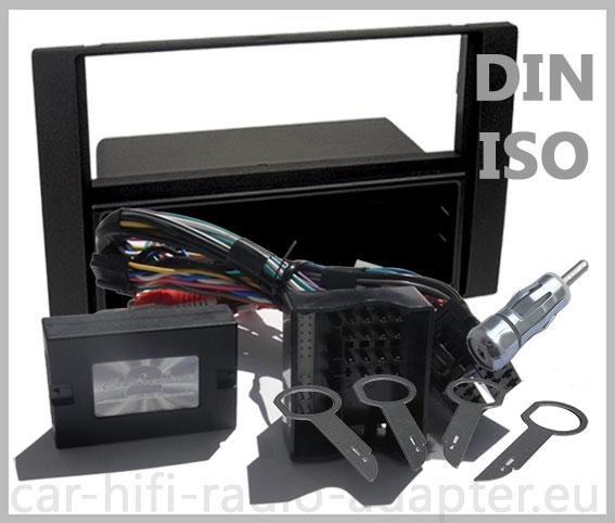 ford fiesta 2005 2008 lenkrad adapter radioblende. Black Bedroom Furniture Sets. Home Design Ideas