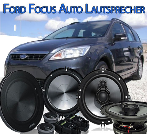 ford focus autolautsprecher auto boxen lautsprecher einbau. Black Bedroom Furniture Sets. Home Design Ideas