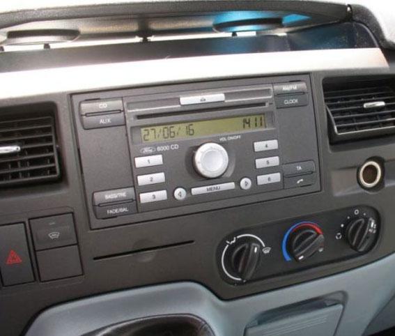 2013 Ford Transit Connect >> Ford Transit ab 2006 Lenkrad Adapter, Radioblende Antennenadapter - Car Hifi Radio Adapter.eu