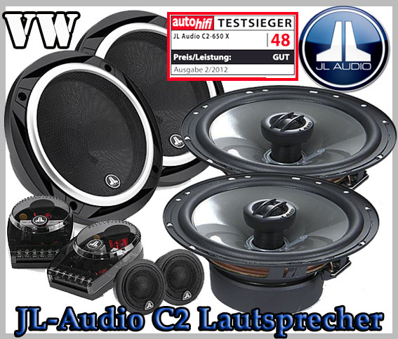 vw passat b6 auto lautsprecher set testsieger jl audio c2. Black Bedroom Furniture Sets. Home Design Ideas