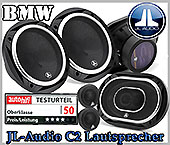 BMW Mini One Auto Lautsprecher, Testsieger JL-Audio C2-690x-650 Set